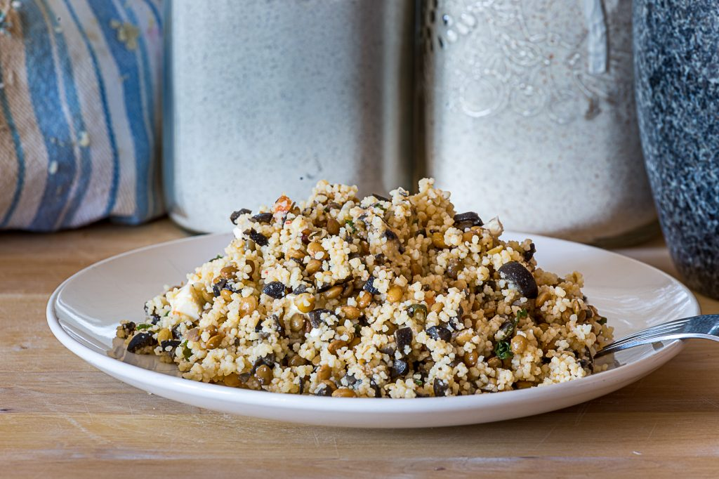 salade de couscous méditerranéenne